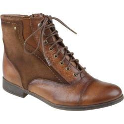 Women's Earth Cedar Almond Tumbled Leather
