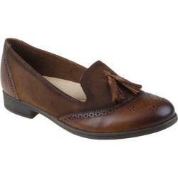 Women's Earth Scarlet Almond Tumbled Leather