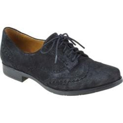 Women's Earthies Lisbon Black Pearlized Suede