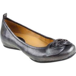 Women's Earthies Rubio Pewter Print Metallic