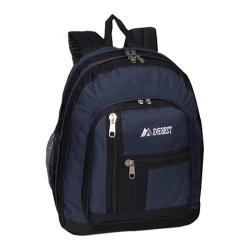 Everest Double Compartment Backpack Navy