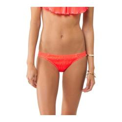 Women's O'Neill Solids Multi Tab Side Hot Coral