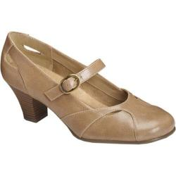 Women's A2 by Aerosoles Marimba Nude Faux Leather