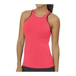 Women's Fila Platinum Halter Neck Tank Diva Pink/Private Charcoal