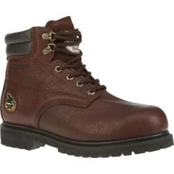 Men's Georgia Boot G6174 6in Oiler Steel Toe Dark Brown Full Grain Leather