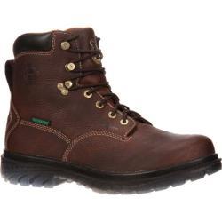 Men's Georgia Boot GBOT055 6in Zero Drag Steel Toe Brown Full Grain Leather