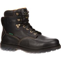 Men's Georgia Boot GBOT056 6in Zero Drag Steel Toe Black Full Grain Leather