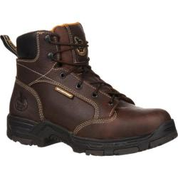 Men's Georgia Boot GBOT061 6in Diamond Trax Steel Toe Brown Full Grain Leather