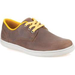 Boys' Clarks Holbay Fun Junior Brown Leather