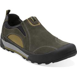 Men's Clarks Outlay Path Olive Suede