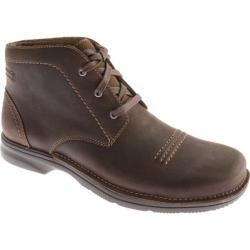 Men's Clarks Senner Drive Chocolate Nubuck