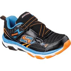 Boys' Skechers X-Cellorator 2.0 Nellux Black/Blue/Orange