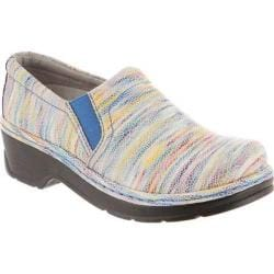 Klogs Naples Multicolored Rainbow Printed Leather