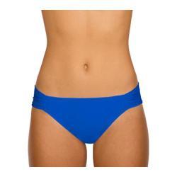 Women's Sunsets Side Shirred Pant Tile Blue
