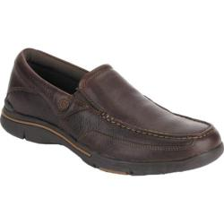 Men's Rockport City Play Eberdon Dark Brown Leather