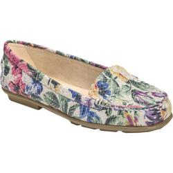 Women's Aerosoles Nu Day Pink Floral Leather