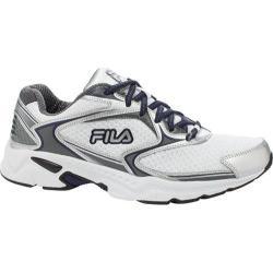 Men's Fila Lancer-X White/Metallic Silver/Fila Navy