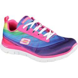 Women's Skechers Flex Appeal Pretty Please Pink/Multi