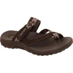Women's Skechers Reggae Trailway Chocolate