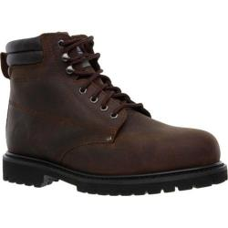 Men's Skechers Work Relaxed Fit Foreman Concore ST Dark Brown