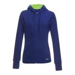 Women's Fila Comfy Jacket Twilight/Safety Yellow