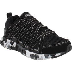 Children's Fila Crater 2 Black/Castlerock/Metallic Silver