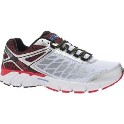 Men's Fila Optima Energized White/Metallic Silver/Fila Red