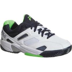 Children's Fila Sentinel White/Blue Nights/Green Gecko