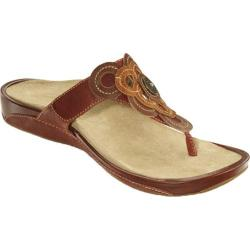 Women's Aetrex Candace Autumn Leather
