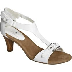 Women's A2 by Aerosoles Lollipowp White Faux Leather