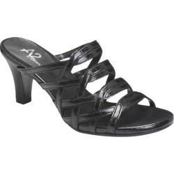 Women's A2 by Aerosoles Water Power Black Faux Croco