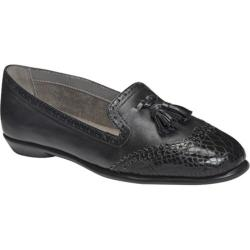 Women's Aerosoles Winning Bet Black Snake Faux Leather