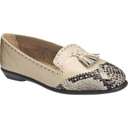 Women's Aerosoles Winning Bet Bone Snake Faux Leather