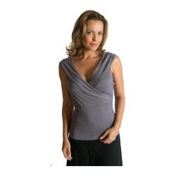 Women's Be Up Portrait Top Grey