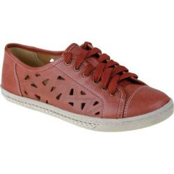 Women's Earth Pomelo Red Full Grain Leather