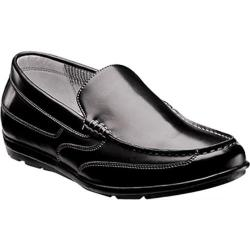 Men's Nunn Bush Cale Black Smooth Leather