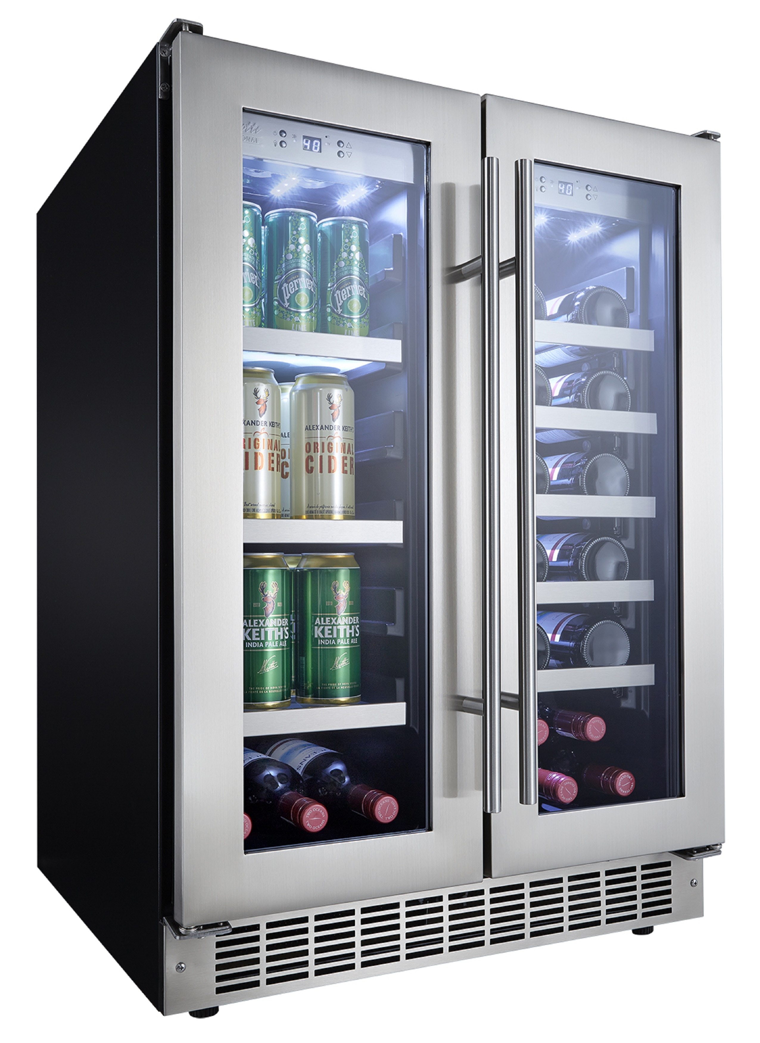 Danby Silhouette Professional Series- 24 Inch Stainless Steel Integrated Beverage Center
