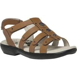 Women's Propet Lakita Camel Supple Leather