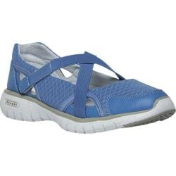 Women's Propet TravelLite Mary Jane Periwinkle Nylon