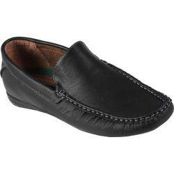 Men's Oxford & Finch Topstitched Loafers Black