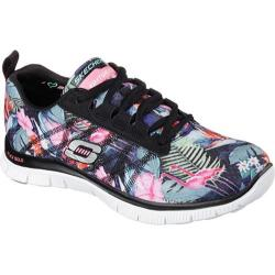 Women's Skechers Flex Appeal Floral Bloom Black/Multi