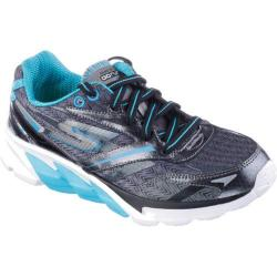Boys' Skechers GOrun 4 Gunmetal/Blue