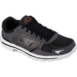 Men's Skechers GOwalk 2 Flash DNA Charcoal/Orange