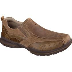Men's Skechers Relaxed Fit Vorlez Conven Desert