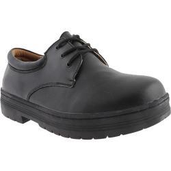 Men's White Cross Duty Oxford Black Leather