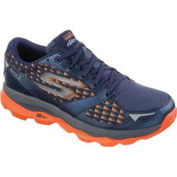 Men's Skechers GOrun Ultra 2 Navy/Orange
