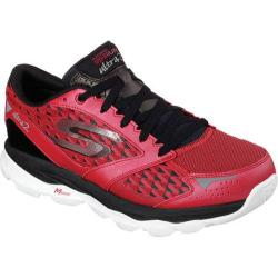 Men's Skechers GOrun Ultra 2 Red/Black