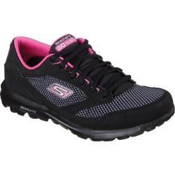 Women's Skechers GOwalk Verve Black/Pink