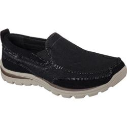 Men's Skechers Relaxed Fit Superior Milford Black