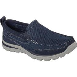 Men's Skechers Relaxed Fit Superior Milford Navy